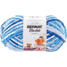Bernat Blanket Yarn- Variegated- Waterslide