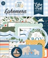 Welcome Baby Boy Die Cuts- Ephemera