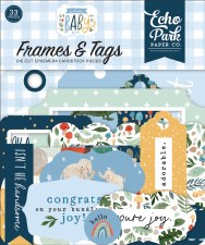 Welcome Baby Boy Die Cuts- Frames & Tags
