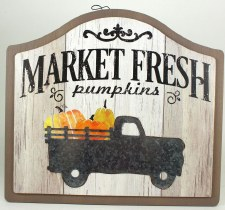 Fall Sign- Market Fresh