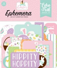 Welcome Easter Die Cuts- Ephemera