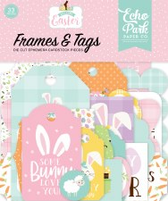 Welcome Easter Die Cuts- Frames & Tags