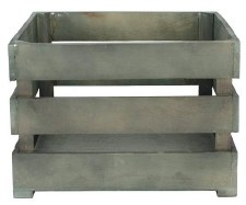 """Weathered Crate, 10.5""""x9.75""""x6.75"""""""