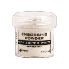 Embossing Powder- Weathered White