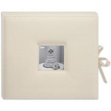 Pioneer Leatherette Album Box- White