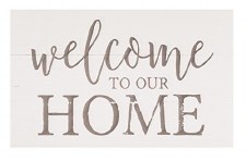 Pallet Decor- Welcome To Our Home