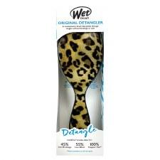 Wet Detangler Brush- Leopard