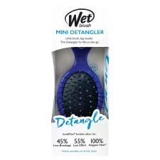 Wet Detangler Brush Mini- Blue