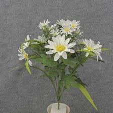 """Daisy Mixed Bush, 18.5""""- White"""