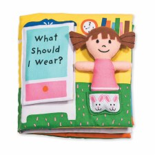 K's Kids Soft Book- What Should I Wear?