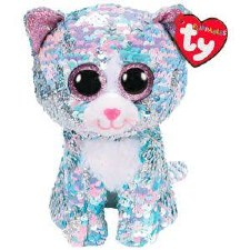 Beanie Flippable Sequins Collection- Whimsy the Cat