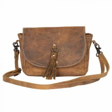 Myra Leather Bag- Whispering Woods