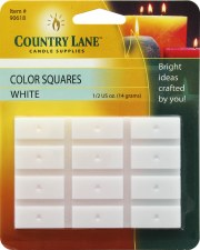 Candle Dye Color Squares 1/2oz White