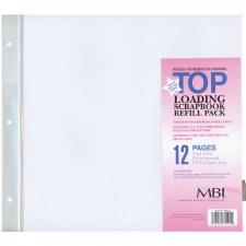 MBI 12x12 Page Refills- 6 pk- #899676