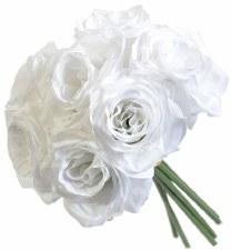 Ashley Rose Wedding Bouquet- White