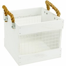 Mix the Media Chicken Wire Crate, 7.75""