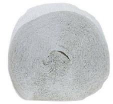 81' Crepe Streamer- White