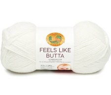 Feels Like Butta Yarn- White