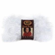 Fun Fur Yarn- White