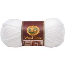 Wool Ease Yarn- White Glitter