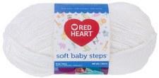 Soft Baby Steps Yarn- White