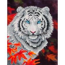Diamond Facet Art Kit- White Tiger