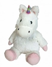Warmies Cozy Plush: White Unicorn