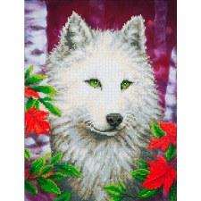 Diamond Facet Art Kit- White Wolf