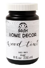 FolkArt Home Decor Wood Tint 8 oz- White