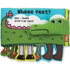 K's Kids Soft Book- Whose Feet?