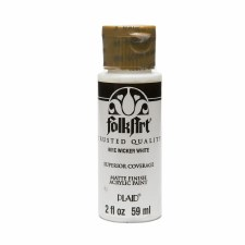 FolkArt 2 Oz. Acrylic Paint- Wicker White