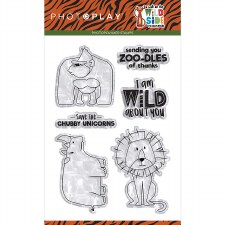 A Walk on the Wide Side- Clear Stamps
