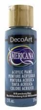 Americana Acrylic Paint, 2oz- Blues: Williamsburg Blue