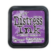 Tim Holtz Distress Ink- Wilted Violet Ink Pad