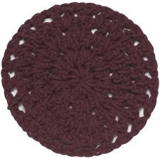 Knotted Cotton Trivet- Wine