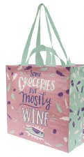 Primitives by Kathy Market Tote- Mostly Wine