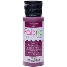 Fabric Creations 2oz Fabric Paint- Wine