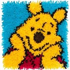 Latch Hook 12x12 Kit- Winnie the Pooh