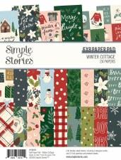 Winter Cottage 6x8 Paper Pad