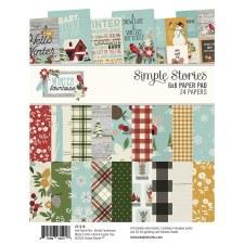Winter Farmhouse 6x8 Paper Pad