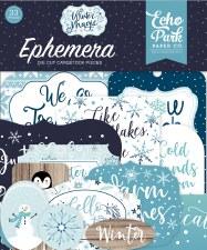 Winter Magic Ephemera Die Cuts