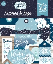 Winter Magic Ephemera Die Cuts- Frames & Tags