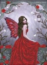 Diamond Facet Art Kit- Winter Rose Fairy