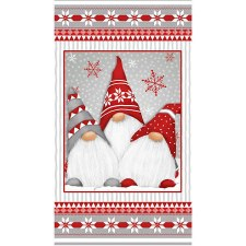 Christmas & Winter Fabric Panel- Winter Whimsy