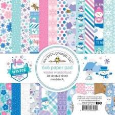 Winter Wonderland 6x6 Paper Pad