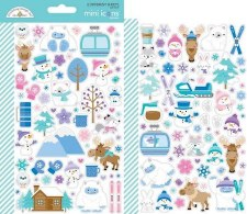 Winter Wonderland Stickers- Mini Icons