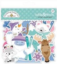 Winter Wonderland Die Cuts- Odds & Ends