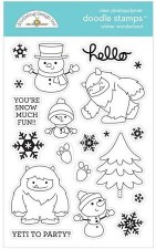 Winter Wonderland Stamps/Dies- Winter Wonderland Doodle Stamps