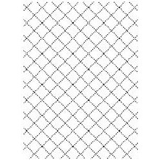 Darice Embossing Folder- Background- Wire Fence