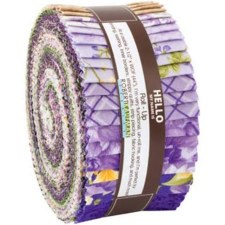 Roll-Up Fabric Strips- Wisteria Beckford Terrace
